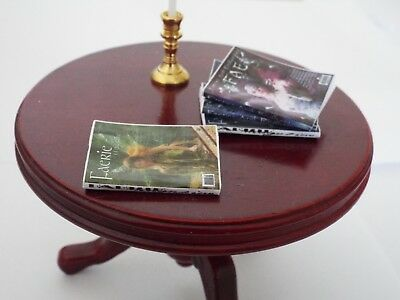 Dollhouse 1:12 scale Fairy MAGAZINES 4 Miniature OPENING MERMAID