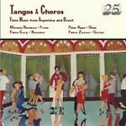 Tangos & Choros: Flute Music from Argentina and Brazil by Various Artists (CD, Apr-2003, Meridian Records)