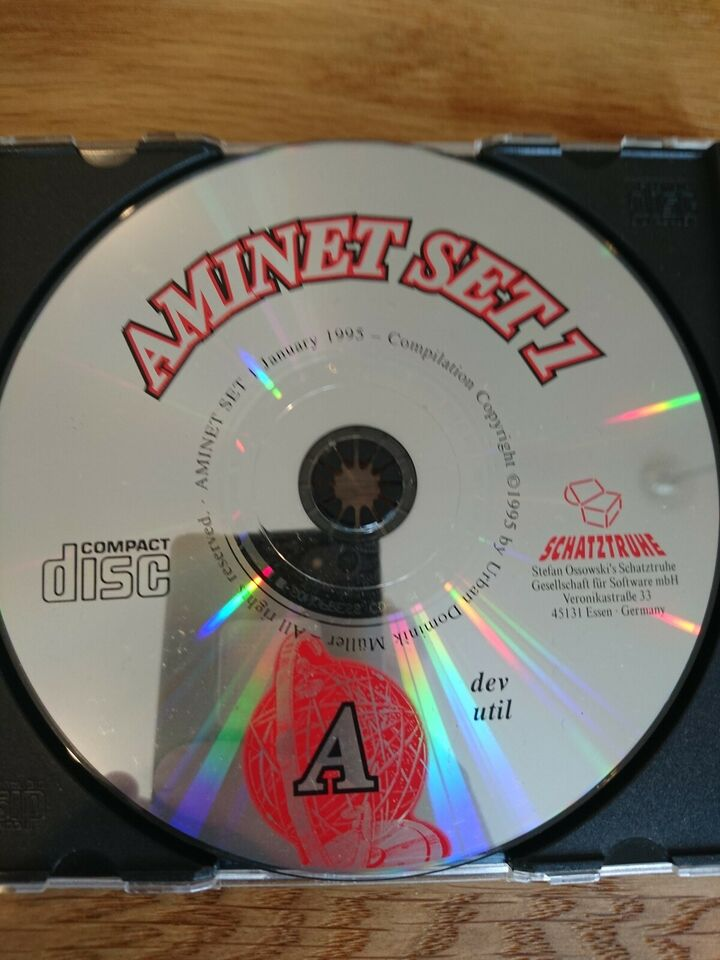 Original Amiga software, tilbehør, Perfekt