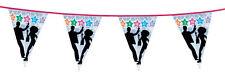 70er Jahre Disco Wimpelkette NEU - Partyartikel Dekoration Karneval Fasching