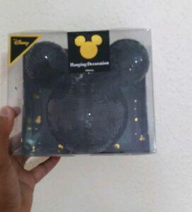 Primark-Disney-GRANDE-Mickey-Mouse-Lustrini-Neri-Albero-di-Natale-Compleanno-bauble