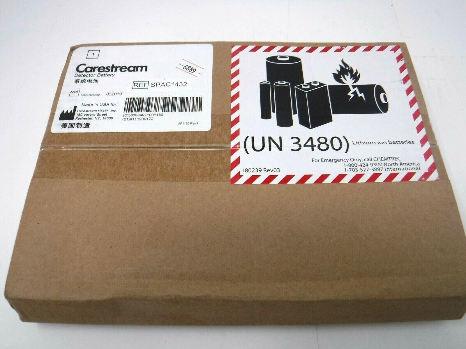 Carestream Detector Battery SPAC1432 *BRAND NEW*