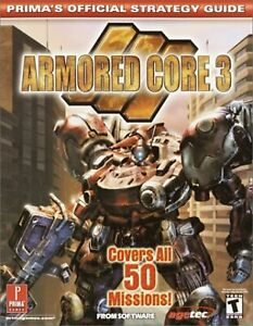 Armored Core 3 Prima's Official Strategy Guide Very Good