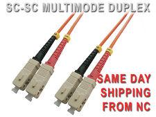 SC-SC MULTIMODE 62.5/125 um UPC DUPLEX FIBER PATCH CORD 25M   SC-SC-M6USD-25M