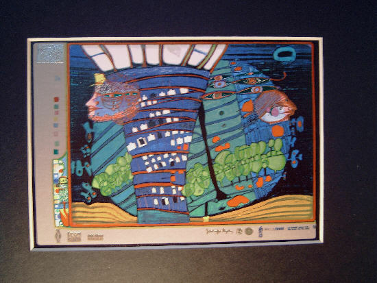 Hundertwasser - EXODUS INTO SPACE