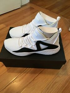 49acf5b53 NIKE Men s Air Jordan Formula 23 White White-Black 881465-100 Shoe ...