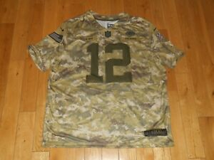 Details about Nike AARON RODGERS GREEN BAY PACKERS Salute To Service Camo NFL Team JERSEY XXL