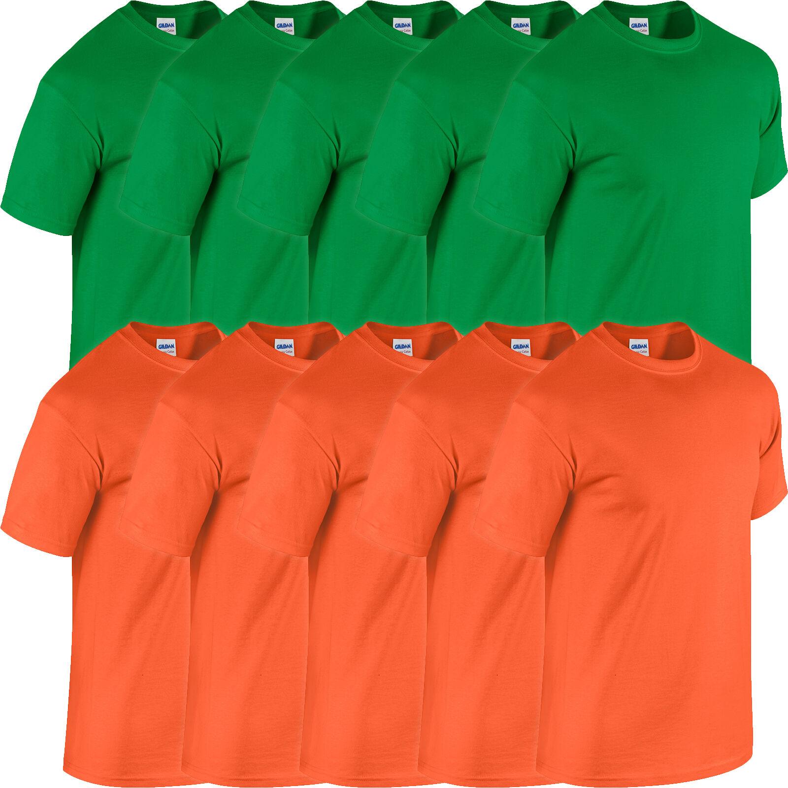 5 x Kelly Green and Orange
