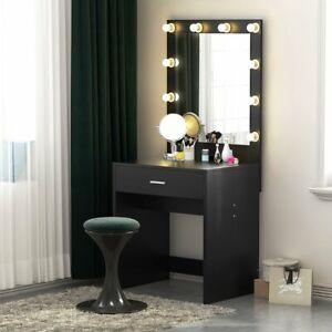 Bedroom Makeup Vanity With Lights