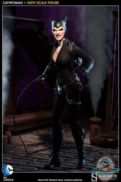 1/6 Sixth scale DC Comics Catwoman 12 inch Figure by Sideshow Collectibles