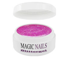 UV GEL 5 ml GLITTERGEL GLITTER ROSA 43
