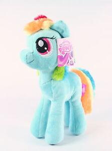 MY-LITTLE-PONY-cuddly-RAINBOW-DASH-10-034-plush-soft-toy-MLP-G4-NEW