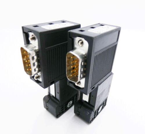 05-used 2x siemens Simatic s7 6es7972-0bb50-0xa0 6es7 972-0bb50-0xa0 e