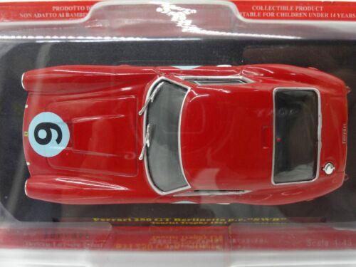 Ferrari Collection F1 250 GT SWB Tourist 1//43 Scale Mini Car Display Diecast