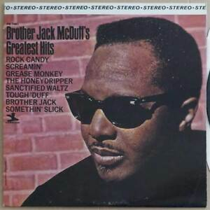LP Brother Jack McDuff - McDuff's Greatest Hits - USA 1981 - VG++