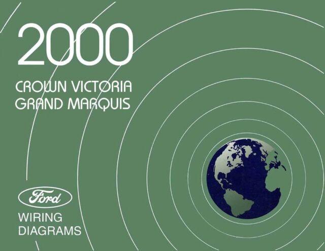 2000 Ford Crown Victoria  Mercury Grand Marquis Wiring