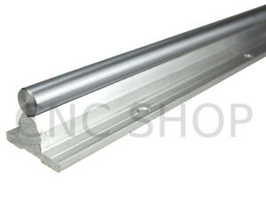 SBR10-1000mm-10mm-FULLY-SUPPORTED-LINEAR-RAIL-SHAFT-CNC-ROUTER-SLIDE-BEARING-ROD