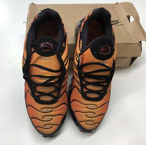 Opinión cerveza negra Violar  Nike Air Max Plus 360 Tn Naranja pimientos Tigre Negras puesta de sol para  hombres talla 10.5 Raro | eBay