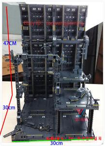MECHANICAL CHAIN Machine Nest ACTION BASE Set for HG//MG//PG Gundam Transformers