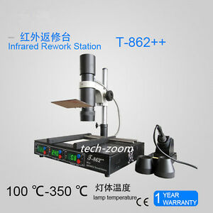T862 IRDA Welder Infrared SMT SMD BGA Rework Station
