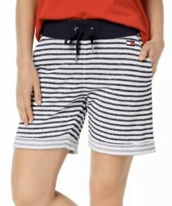 Tommy Hilfiger Sport Womens Plus French Terry Logo Shorts