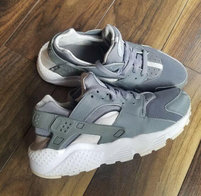 GS 654275-110 Big Kids Nike Huarache Run White//White Sizes 4-7 New In Box