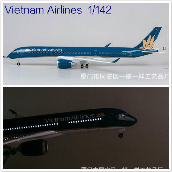 online barato 1 142 Vietnam Airlines Airlines Airlines Avión Modelo A350 47cm LED Luz de voz Mini Avión  Ven a elegir tu propio estilo deportivo.