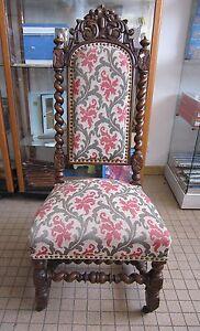 Dv3749 Fauteuil Style Henri Ii A Restaurer Tres Ancien Les Clients D'Abord