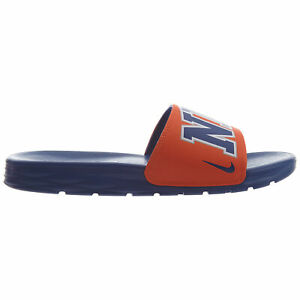 reputable site 0246c 89c43 Image is loading Nike-Benassi-Solarsoft-NBA-New-York-Knicks-Mens-