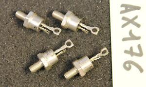 Lot de 4 x thyristor 2N682   Thomson ( AX176 )