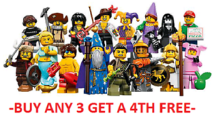 LEGO-MINIFIGURES-SERIES-12-71007-PICK-CHOOSE-YOUR-OWN-BUY-3-GET-1-FREE