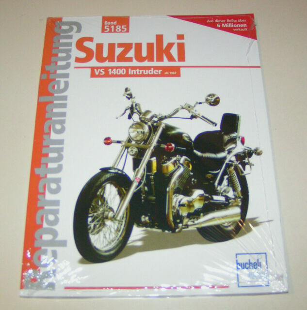 Manuel de Réparation Suzuki Vs 1400 Intruder À Partir De L'Année 1987