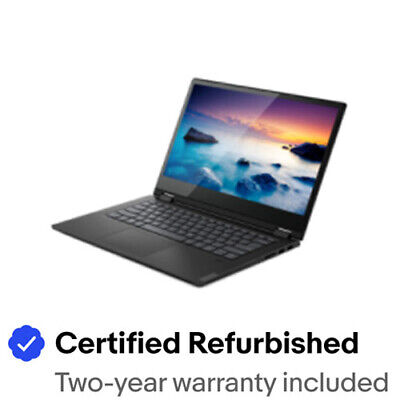 "Certified Refurbished Lenovo 81SQ000SUS Flex 14 14"" FHD Touchscreen Gold 5405U"