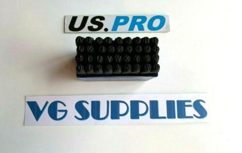 US PRO Outil 36pc Grande Lettre et Numéro Perforatrice cachet En Métal De Sécurité Set Nouveau 2049