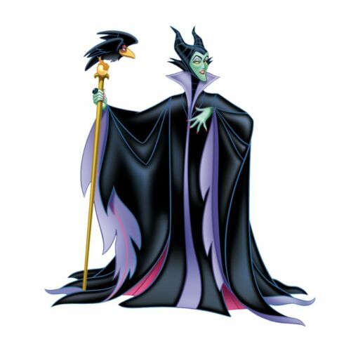 DISNEY VILLAINS MALEFICENT EVIL QUEEN URSULA IRON ON HEAT TRANSFER TSHIRT LOT DV
