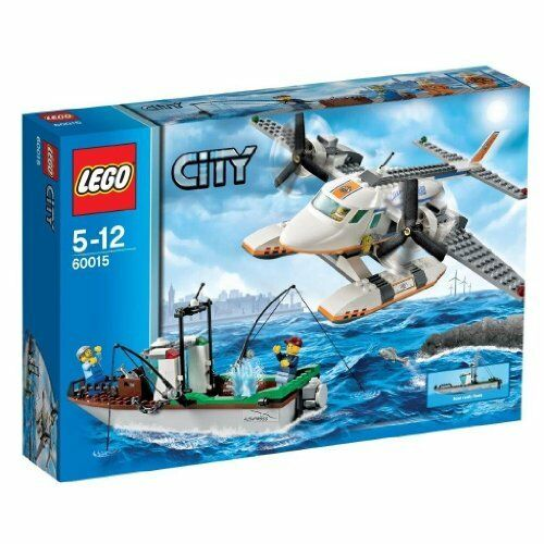 Lego City rescue plane and fishing boat 60015