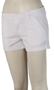 Volcom-Frochickie-3-034-Women-039-s-Walk-Shorts-White-New