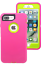miniature 21 - 5Pcs-Protective-Hybrid-Rugged-Shockproof-Case-Cover-For-Apple-iPhone-6-7-8-Plus