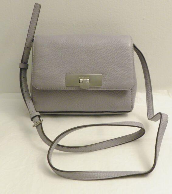 fdee3b15b17c Michael Kors Callie Small Pebble Leather Crossbody Bag Purse Fuschia ...