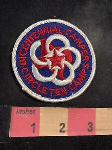 Vtg-1976-Bicentennial-Camper-Circle-Ten-Camps-Texas-Boy-Scouts-Patch-93NL