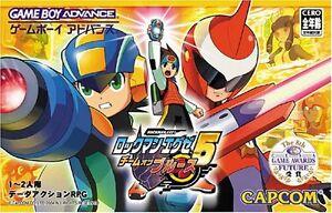 Used-Game-boy-Advance-ROCKMAN-EXE-5-Megaman-Battle-Network-Team-of-Blues-Japan