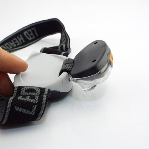 Mini LED Headlamp Headlight 3-Mode camping lampe AAA frontale Head Torch Outdoor