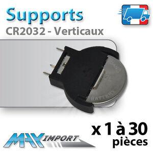 support pour pile cr2032 vertical lots multiples prix d gressif ebay. Black Bedroom Furniture Sets. Home Design Ideas