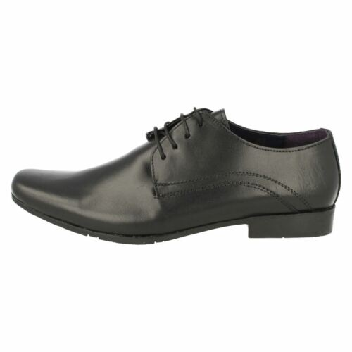 Homme Psl Noir en Cuir à Lacets formelle chaussures tailles uk 7-11 209682b