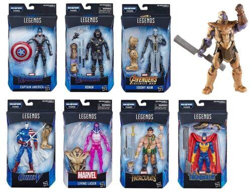"""In-Stock Hasbro Marvel Legends Avengers Endgame Set of 7 /& BAF Thanos 6/"""" New"""