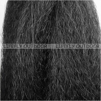 Grey Synthetic Hair Fly Tying Super Hair Jig Tying Saltwater Flies Fibre