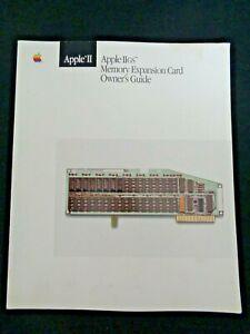 Vintage-Apple-IIgs-Computer-II-memory-expansion-card-owners-guide-1986-Manual
