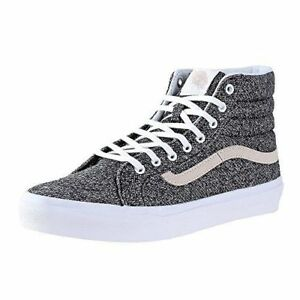 c652d120db VANS SK8-HI SLIM J S SKATE MEN SZ 6.5   WOMEN SZ 8 SHOES BLACK ...