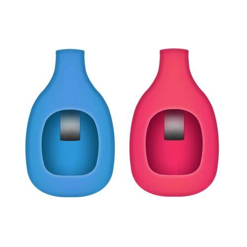 Rouge /& Bleu 2PK de remplacement ceinture Chaussure Soutien-gorge Support Clip Accessoires pour Fitbit zip