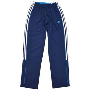 professional sale run shoes price reduced Details zu Adidas 3S Climalite Jogginghose Wov Pant Trainingshose Freizeit  Hose Herren Blau